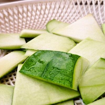 盘点免费良药西瓜皮的妙用:开胃,解热还能消炎图片